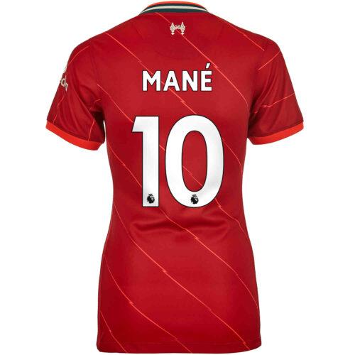 2021/22 Womens Nike Sadio Mane Liverpool Home Jersey