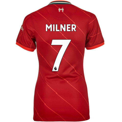 2021/22 Womens Nike James Milner Liverpool Home Jersey