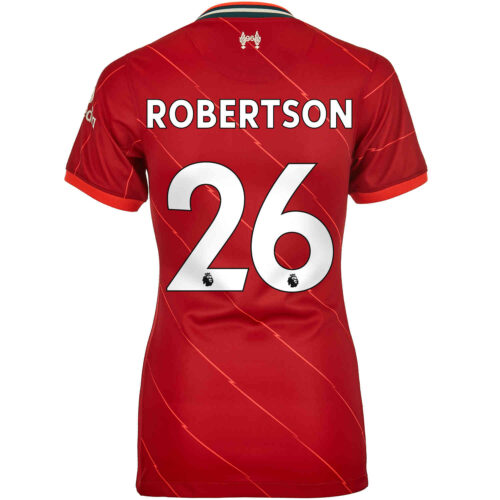 2021/22 Womens Nike Andrew Robertson Liverpool Home Jersey
