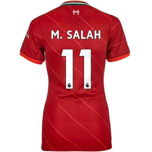 2021/22 Womens Nike Mohamed Salah Liverpool Home Jersey