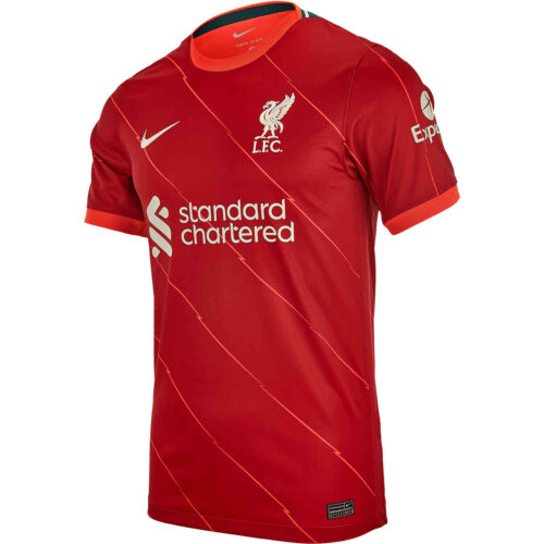 2021/22 Nike Liverpool Home Jersey