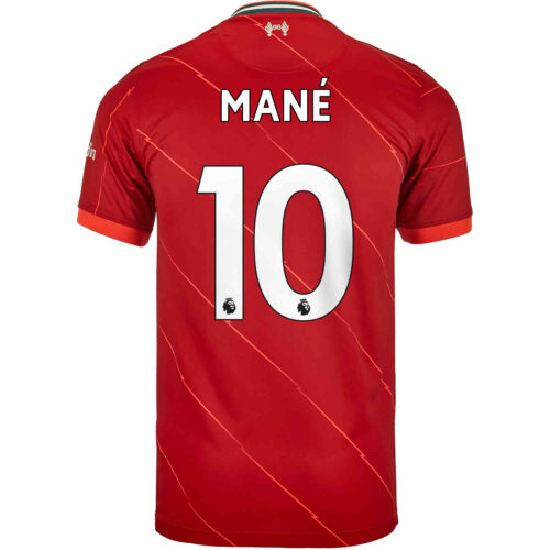 2021/22 Nike Sadio Mane Liverpool Home Jersey