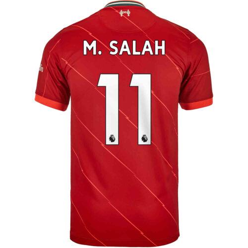 2021/22 Nike Mohamed Salah Liverpool Home Jersey