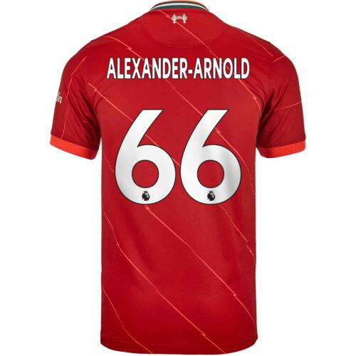 2021/22 Kids Nike Trent Alexander-Arnold Liverpool Home Jersey