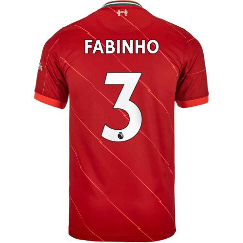 2021/22 Kids Nike Fabinho Liverpool Home Jersey