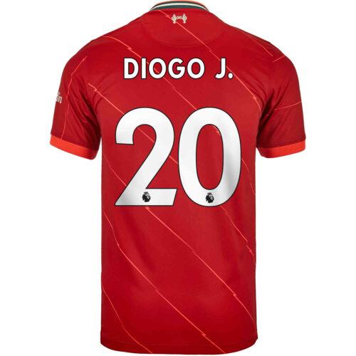 2021/22 Kids Nike Diogo Jota Liverpool Home Jersey