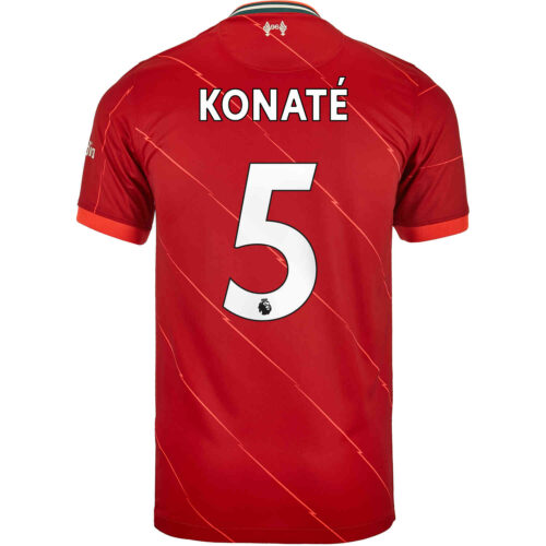 2021/22 Kids Nike Ibrahima Konate Liverpool Home Jersey