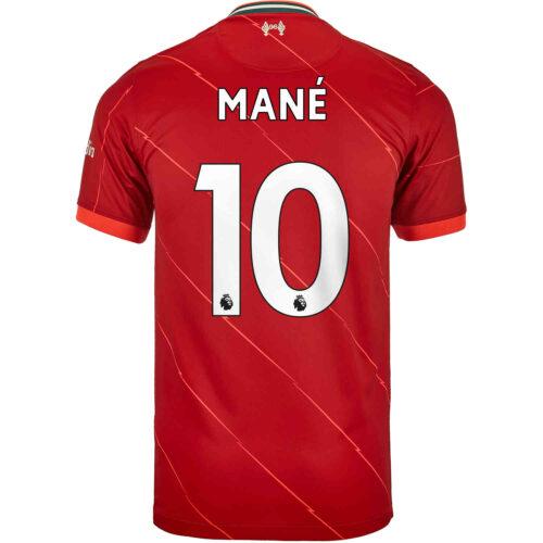 2021/22 Kids Nike Sadio Mane Liverpool Home Jersey