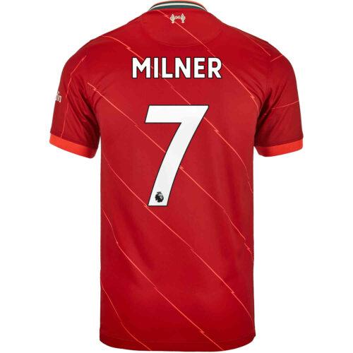 2021/22 Kids Nike James Milner Liverpool Home Jersey