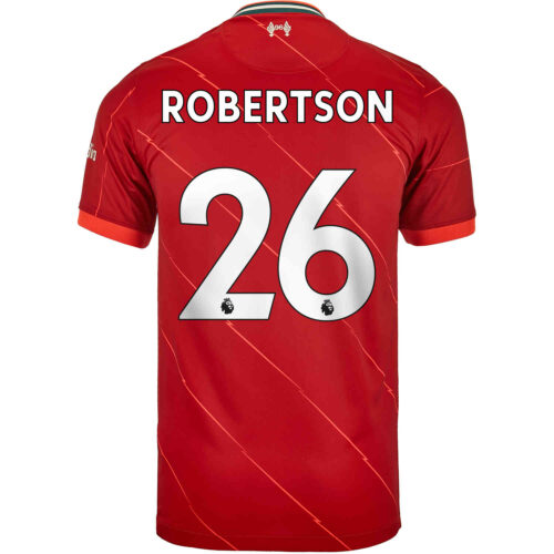 2021/22 Kids Nike Andrew Robertson Liverpool Home Jersey