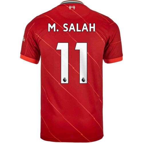 2021/22 Kids Nike Mohamed Salah Liverpool Home Jersey