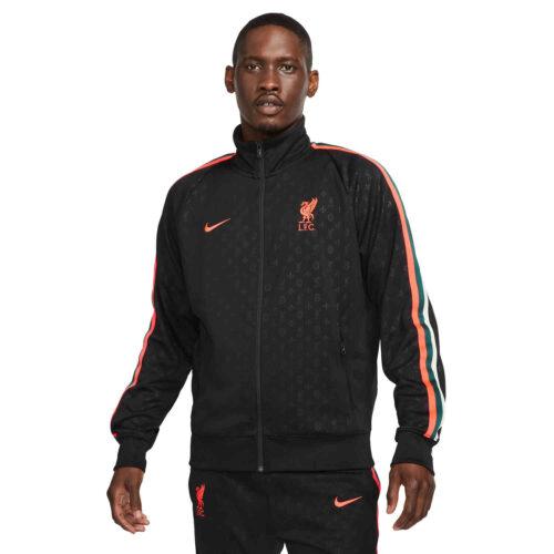 Nike Liverpool TRBT N98 Lifestyle Jacket – Black/Bright Crimson