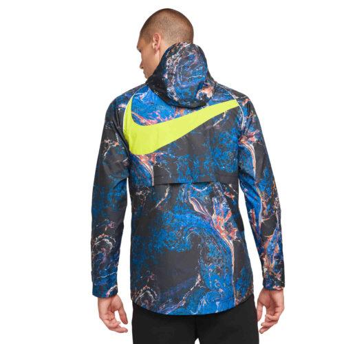 Nike Tottenham AWF Lifestyle Jacket – Black/Black/Venom Green/Venom Green