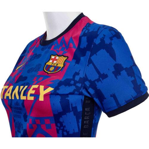 2021/22 Womens Nike Barcelona 3rd Jersey