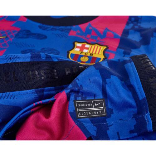 2021/22 Kids Nike Barcelona 3rd Jersey