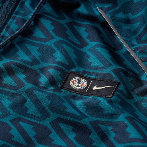 Nike Club America AWF Lifestyle Jacket – Armory Navy/Dark Obsidian/Geode Teal/Lemon Chiffon