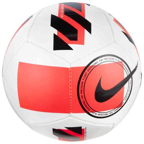 Nike Skills Ball – White & Bright Crimson with Black