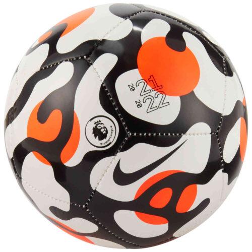Nike Premier League Skills Ball – White & Hyper Crimson with Black