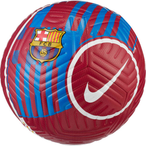 Nike Barcelona Strike Soccer Ball – Noble Red & Soar with Pale Ivory