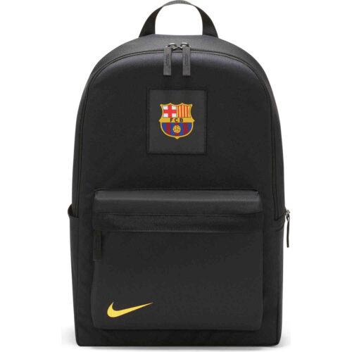 Nike Barcelona Backpack – Black & Varsity Maize