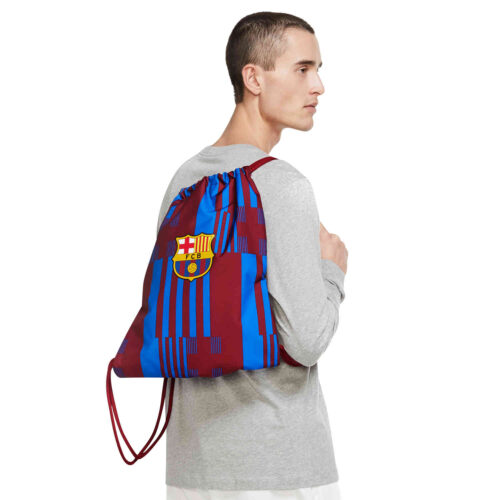 Nike Barcelona Gymsack – Noble Red & Soar with Pale Ivory