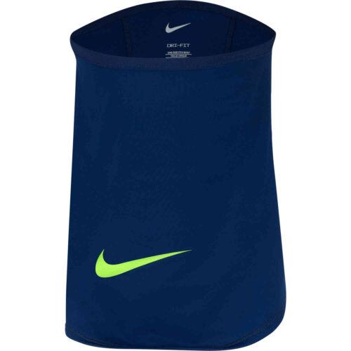 Nike Winter Warrior Neck Warmer – Blue Void/Volt