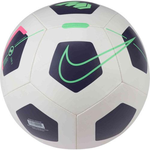 Nike Mercurial Fade Soccer Ball – Platinum Tint & Dark Raisin with Rage Green