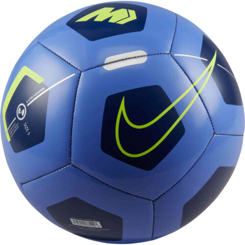 Nike Mercurial Fade Soccer Ball – Sapphire & Blue Void with Volt