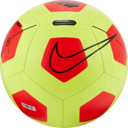 Nike Mercurial Fade Soccer Ball – Volt & Bright Crimson with Black