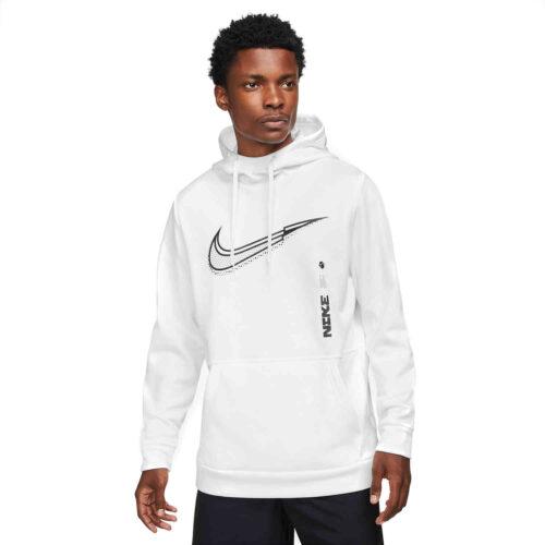 Nike Therma-FIT Hoodie – White/Black