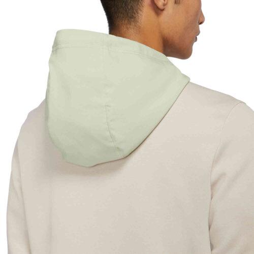 Nike Dri-FIT Fleece Hoodie – Oatmeal Heather/Olive Aura/Pilgrim
