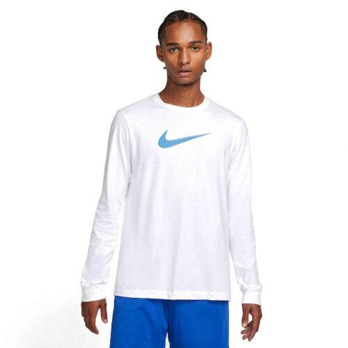 Nike Dri-FIT L/S Tee – White