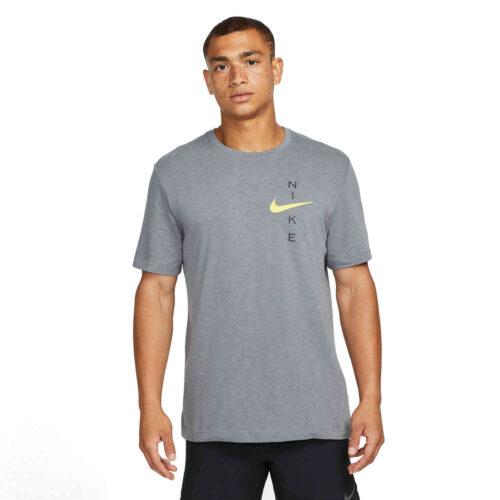 Nike Slub Tee – Smoke Grey