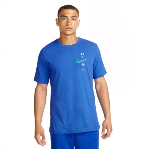 Nike Slub Tee – Game Royal