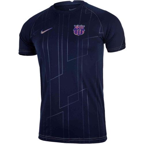 Nike Barcelona Away Lifestyle Pre-match Top – 2021/22