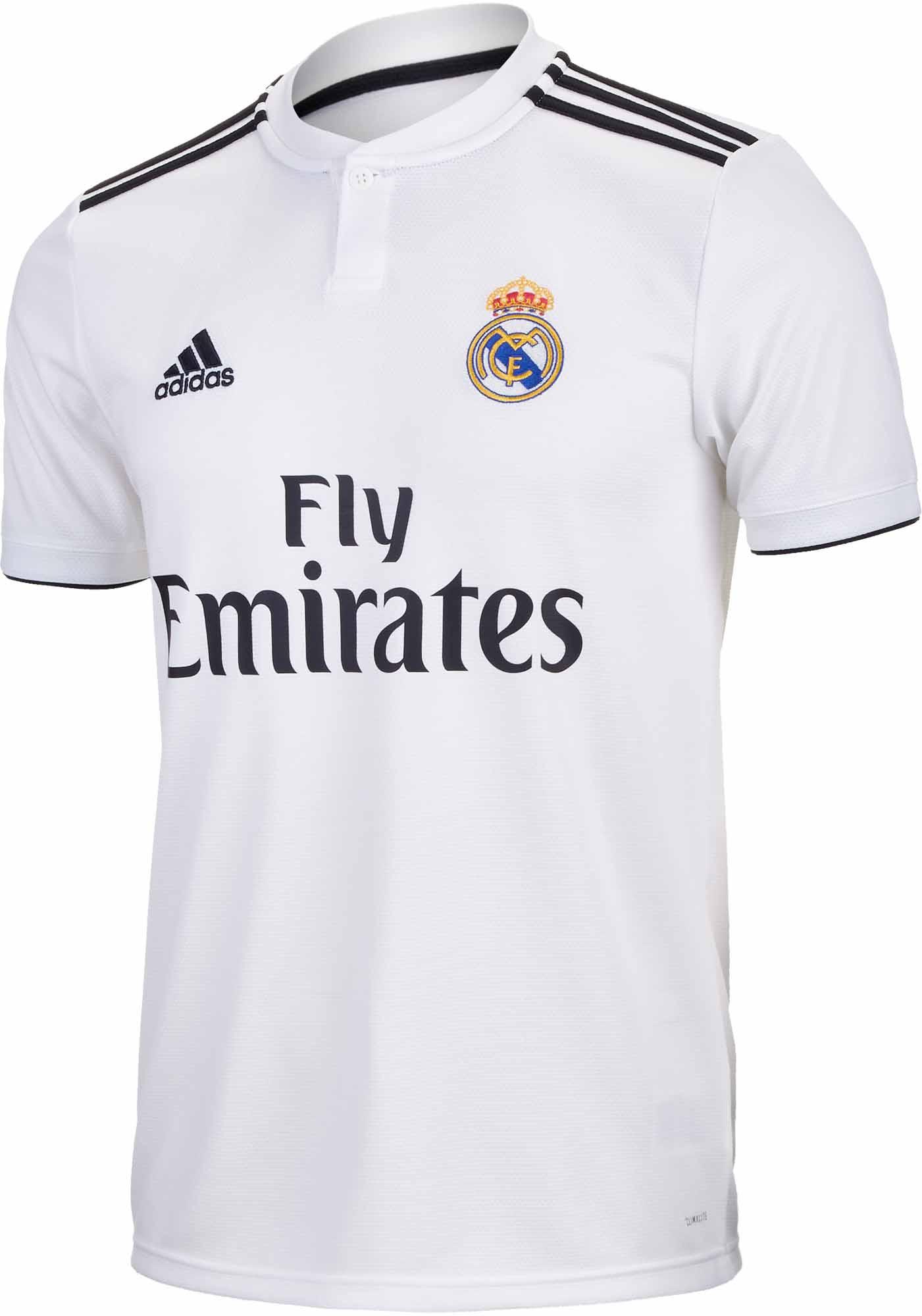 5fc6028d090 adidas Real Madrid Home Jersey 2018-19 - SoccerPro