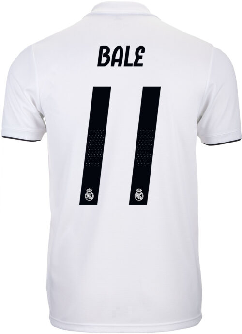 adidas Gareth Bale Real Madrid Home Jersey 2018-19