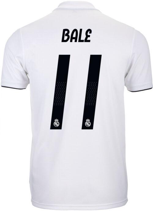adidas Gareth Bale Real Madrid Home Jersey 2018-19