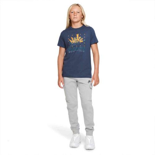 Kids Nike Futura Tee – Thunder Blue