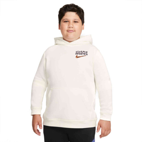 Kids Nike Graphic Fleece Hoodie – Sail