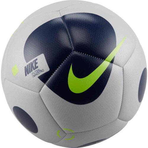 Nike Maestro Futsal Ball – Frey Fog & Blue Void with Volt