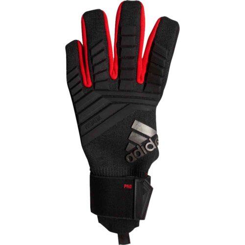 adidas Predator Pro Goalkeeper Gloves – Black/Active Red