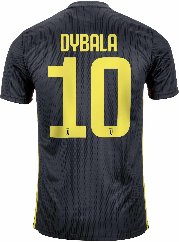 70a309fb6 2018 19 Kids adidas Paulo Dybala Juventus 3rd Jersey - SoccerPro