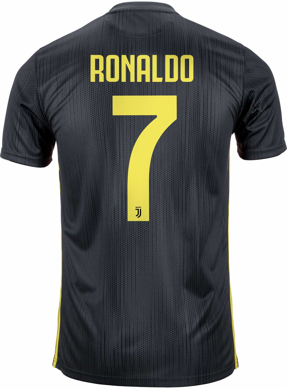 buy online 9fdc9 9629a 2018/19 Kids adidas Cristiano Ronaldo Juventus 3rd Jersey ...