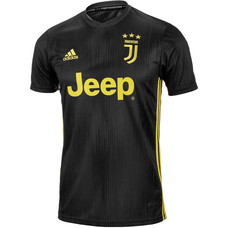 new products 996f2 2afb7 2018/19 adidas Cristiano Ronaldo Juventus 3rd Jersey - SoccerPro