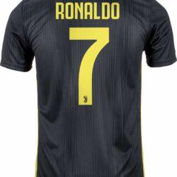 9e60c6d6d 2018 19 adidas Cristiano Ronaldo Juventus 3rd Jersey - SoccerPro
