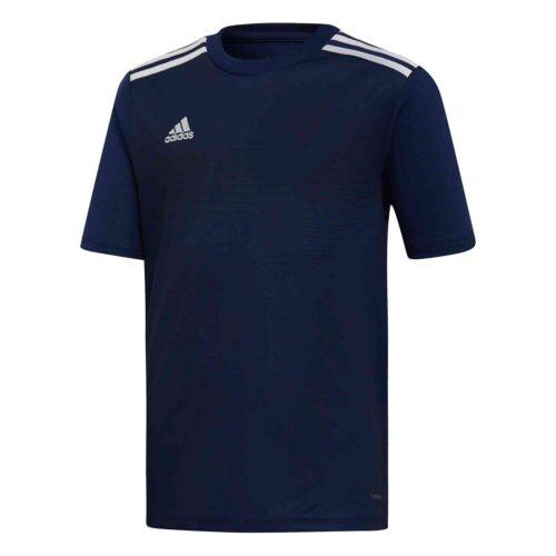 Kids adidas Campeon 19 Jersey – Dark Blue/White