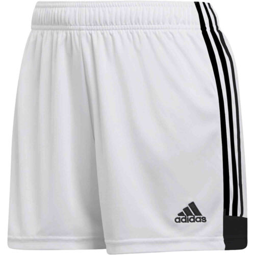Womens adidas Tastigo 19 Shorts – White/Black