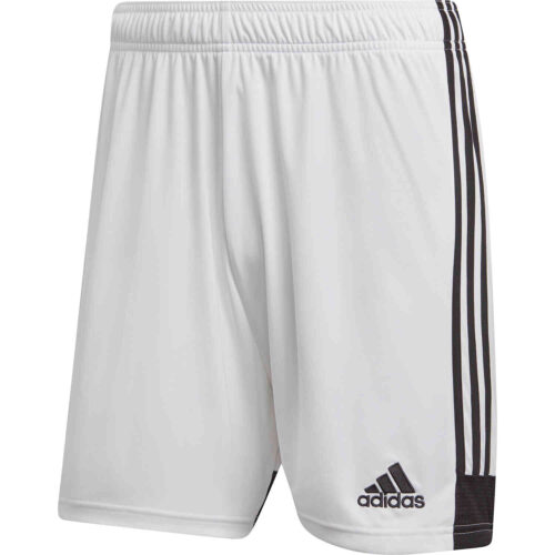 Kids adidas Tastigo 19 Shorts – White/Black