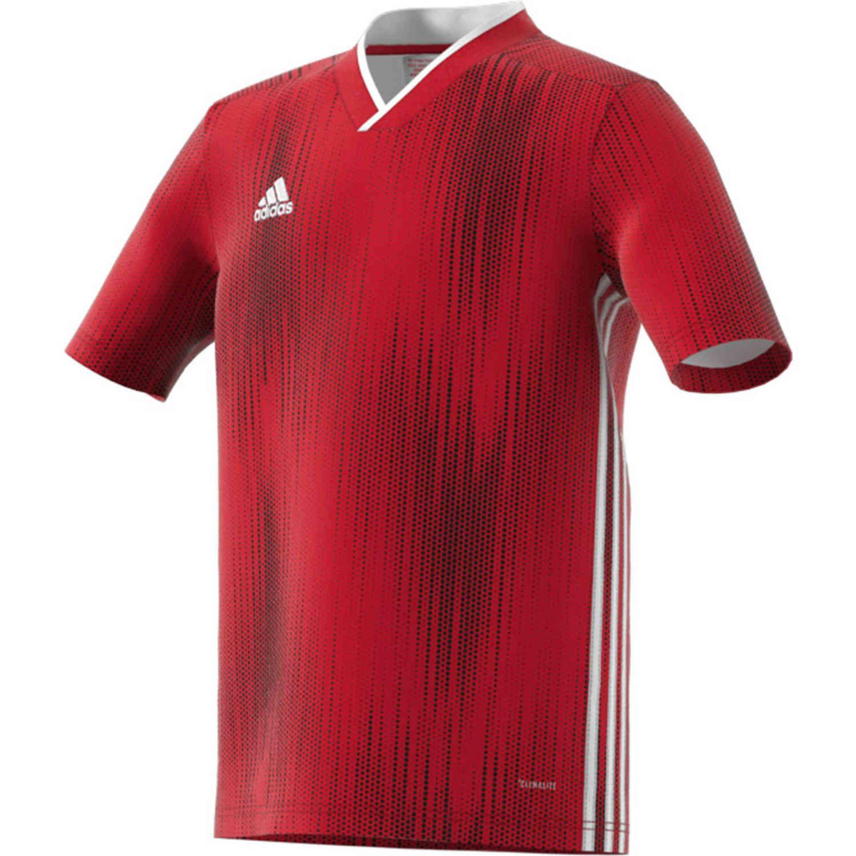 Kids adidas Tiro 19 Jersey - Power Red - SoccerPro